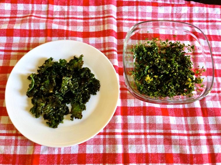Kale and Gremolata